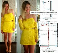 Moldes Moda por Medida: VESTIDO FÁCIL DE FAZER - 25