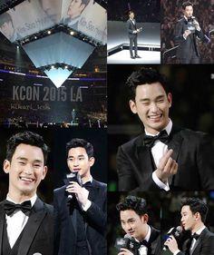 KCON LA 150802 #KimSooHyun #김수현