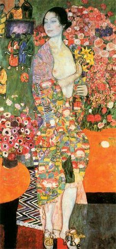 Late Works / Die Tänzerin (vorher Ria Munk II) 1916 Gustav Klimt