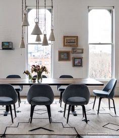 Mauve dining chairs | SPACES AND GEMS | Pinterest | Gothenburg Studio and Dining chairs & Mauve dining chairs | SPACES AND GEMS | Pinterest | Gothenburg ...