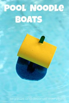 Pool Noodle Boats ar