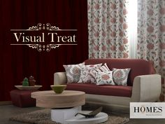 Homes Furnishings the real treat to your interiors! Explore more @ www.homesfurnishings.com #HomesFurnishings #Cushions #Furnishings #Interiors #HomeDecor #Decor #Curtains