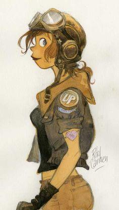 chica piloto