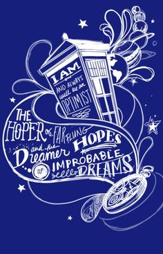 The hoper of far flung hopes and the dream of improbable dreams #doctorwho