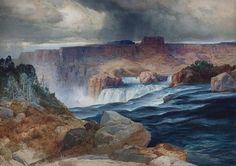 File:Shoshone Falls Idaho Thomas Moran.jpeg
