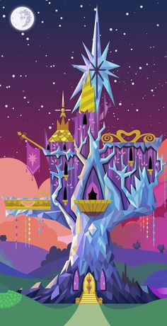 Twilight's castle of friendship My Little Pony Twilight, Mlp Twilight, Princess Twilight Sparkle, Equestria Girls, Imagenes My Little Pony, Cute Kawaii Animals, Little Poni, Pony Drawing, My Little Pony Pictures