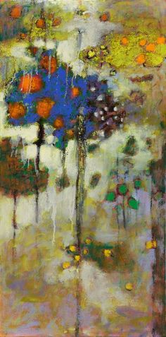 Dematerialized | oil on linen |  32 x 16"