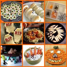 some kid food ideas for halloween