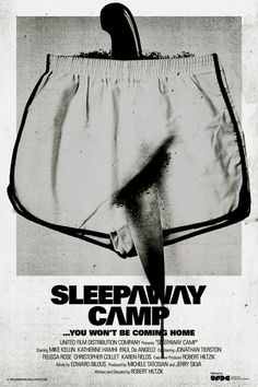 Sleepaway Camp, horror, movie, poster, art