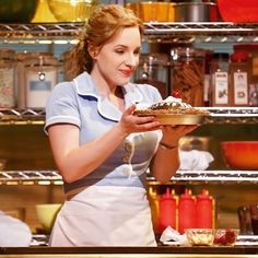 Mama its amazing what baking can do! QOTD: Whats your favorite kind of pie? A: Apple Pie with whipped cream! FUN FACT: I love to bake and after I bought The Waitress Pie Cookbook (yes thats a thing) I started making pies and they are so much fun! #waitress #waitressmusical #jennahunterson #pie #jessiemueller #JFM #sarabareilles #broadway #musical #theatre #broadwaymusical #musicaltheatre #LukeDelmar #instagram