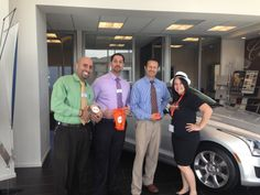 Hanging out with the guys at Putnam Chevrolet Cadillac! #StrikeClubSiliconValley