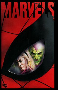 Marvels #4, April 1994, cover by Alex Ross,