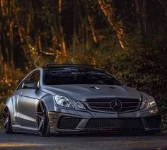 Stanced AMG Mercedes #Mercedes #GreaseGarage #AMG #Stance #EDM