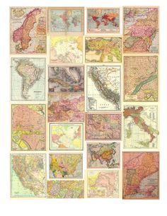I have a love affair with antique maps, and I've been building up a collection of hundreds over the years, many of which I sell in my Etsy shop ArtDeco. I've seen all sorts of creative …