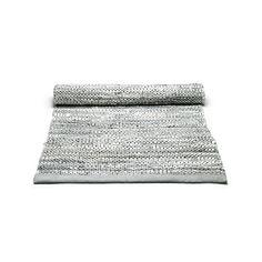 Handwoven Light Grey Rug Rug Solid Rug Size: Runner 75 x Black White Rug, Dark Grey Rug, Grey Rugs, Solid Rugs, Area Rug Sizes, Rug Shapes, Pink Rug, Grey Leather, Runes