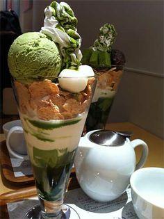 盛り方nana's green tea 札幌パルコ店