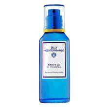 Blu Mediterraneo Mirto di Panarea by Acqua di Parma 2.0 oz Eau de Toilette Spray Design House: Acqua Di Parma. Fragrance Notes: vetiver, citron, red ginger, italian Bergamot, cedarwood. Recommended Use: casual.