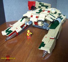 Shagohod - Metal Gear Solid 3 Lego. Saber-Scorpion's Lair by Justin R. Stebbins.