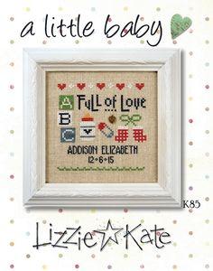 A Little Baby da Lizzie Kate - Lizzie Kate - Ricamo - Casa Cenina