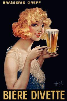 Divette Beer. 1929 #biere #jetudielacom