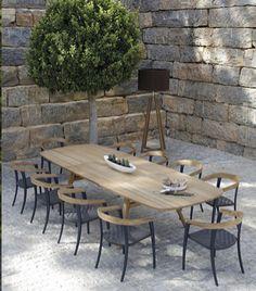 table et chaise teck exterieur