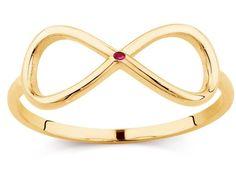 Złoty pierścionek gwiazd RUBIN 0,01 ct INFINITY Jewelery, Bracelets, Gold, Jewlery, Charm Bracelets, Jewels, Arm Bracelets, Bangles, Jewellery