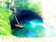 To Sua Ocean Trench - Upolu , Western Samoa