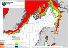 Norwegian ice chart