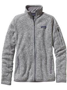 patagonia women's better sweater jacket birch white