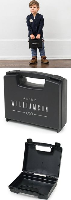 Ringbearer Gift Idea - Gift a memorable keepsake to your Ring Bearer with this personalized special agent carrying briefcase. He'll be on top of his game guarding the rings until called upon to present them to the bride and groom. Make Your Own Ring, Design Your Own Ring, Create Your Own, Custom Wedding Rings, Wedding Ring Designs, Wedding Bands, Wedding Ideas, Special Agent, Perfect Wedding