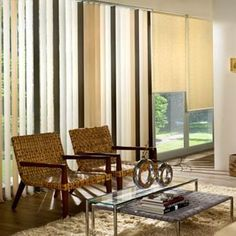 www.vitendi.co.ke A classic choice for the home and office, vertical blinds are an attractive and affordable option for your window coverings. Unlike horizontal options, these shades hang vertically from a head rail similar to curtains, making them elegant and very easy to operate.