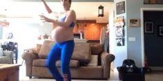 Niesamowity taniec kobiety w 40 tygodniu ciąży – zobacz to! - film