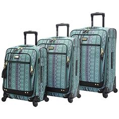 online shopping for Steve Madden Legends Set Expandable Spinners: 28 24 20 from top store. See new offer for Steve Madden Legends Set Expandable Spinners: 28 24 20 Luggage Deals, Best Carry On Luggage, Hand Luggage, Luggage Store, Suitcase Set, Spinner Suitcase, Designer Luggage, Designer Handbags
