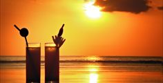 Buy Cocktails at Sunset by on VideoHive. A pair of glasses with a cocktail on the beach at sunset A Perfect Day, Fine Wine, Beach Club, Santa Barbara, Stock Footage, Cocktails, Sunset, Outdoor, Image