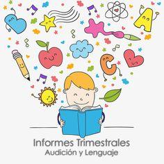 Cuaderno de Informes de Audición y Lenguaje con diferentes modelos según su…