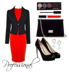 """""""Professional"""" by izzie-apalais-13 ❤ liked on Polyvore featuring McQ by Alexander McQueen, Vivienne Westwood Anglomania, Dolce&Gabbana, GUESS, Rodo and Christian Dior"""