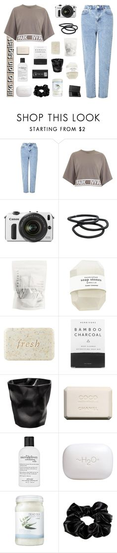 """like to join taglist"" by t-ogether ❤ liked on Polyvore featuring Miss Selfridge, Topshop, Eos, Goody, Fresh, Herbivore, Chanel, philosophy, H2O+ and Ahava"