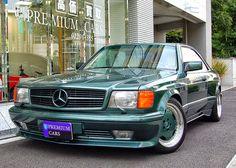 BENZTUNING: Mercedes-Benz C126 500SEC AMG Widebody