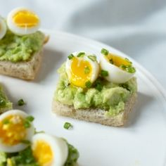 Avocado and Quail Egg Tea Sandwiches + + https://www.facebook.com/AlwaysTeaTime http://alwaysteatimeallison.blogspot.com/