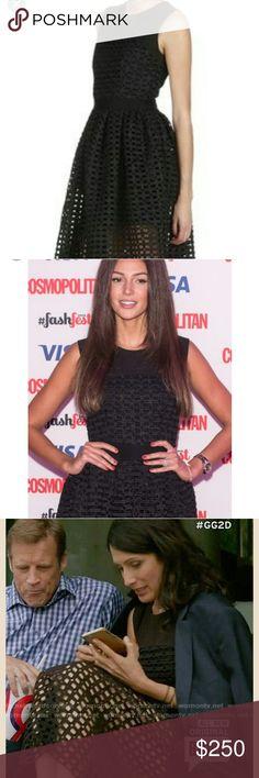 Maje black lays tulle dress Worn by celebrities very nice gown Maje Dresses Midi