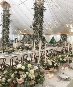 So much went into transforming this sailcloth tent into a dreamy rose garden. Taupe lattice panels and heavy canvas curtains framed the… Irish Wedding, Our Wedding, Wedding Stuff, Canvas Curtains, Wedding Planning Websites, Sailing Outfit, Reception Decorations, View Photos, Event Design