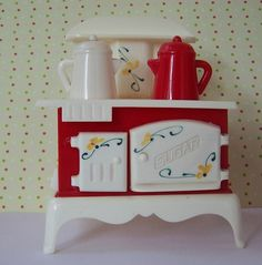 Vintage Stove Salt And Peppers Shaker