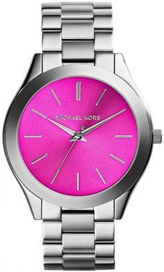 d41bda8f4c7c Michael Kors MK3291 Ladies Slim Runway Watch detail image Mk Watch