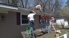 Students from Mentor's Career Tech Construction Class have taken their skills to the real world, completely renovating a rundown home in that city. It's taken hundred…
