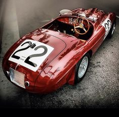 Ferrari Ferrari Racing, Vintage Sports Cars, Joy Ride, Henry Ford, Top Cars, Car Painting, Vintage Tops, Cars And Motorcycles, Race Cars
