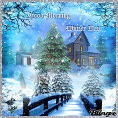 Good Morning Blingee | Good Morning Winter Day!
