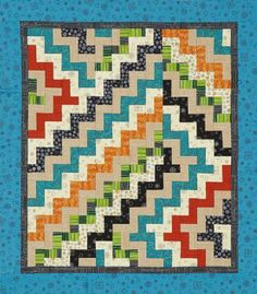Color Maze | AllPeopleQuilt.com I made a quilt from this pattern. It was fun to do!