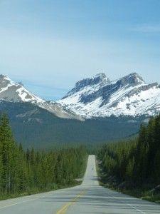 Neverending highway, Canadian Rockies