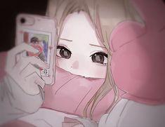 L Anime, Female Anime, Anime Chibi, Anime Love, Kawaii Anime Girl, Anime Art Girl, Manga Girl, Anime Boyfriend, Blonde Hair Girl