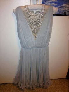 Vintage 1930's beaded dress by VioletBelleVintage on Etsy. If someone doesn't buy me this, I will die.